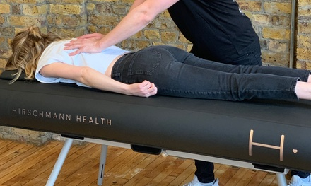 Chiropractic Consultation and One or Two Treatments at Hirschmann Health (81% Off) (London)