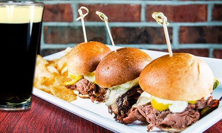 $12 for $20 Worth of Food and Soft Drinks at Brubaker's Pub