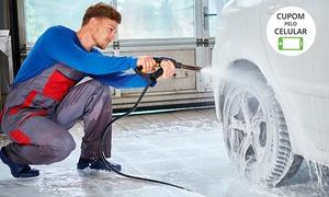 Car Wash: Lava Jato - Lavagem americana com cera (opção com polimento, higienização e mais) na Car Wash – SIA