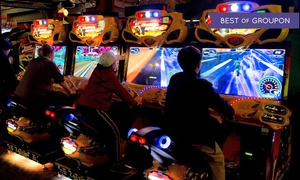 64% Off Arcade Games at GameWorks at GameWorks, plus 9.0% Cash Back from Ebates.