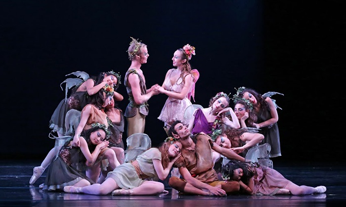 """A Midsummer Night's Dream"" - Raritan Valley Community College: American Repertory Ballet Presents A Midsummer Night's Dream on Saturday, March 19, at 3 p.m."
