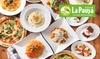 LaPausa(ラパウザ)全国15店舗対象|食べ放題コース(ドリンクバー付き)