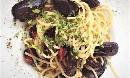 ⏰ Menu di pesce con dolce e vino a 34,90€euro