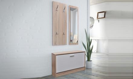 ensemble de meubles pour couloir groupon. Black Bedroom Furniture Sets. Home Design Ideas