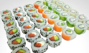 Che Sushi: Desde $269 en vez de $570 por combo de salmón y langostinos de 30 o 60 piezas + delivery en Che Sushi. 3 sucursales