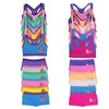 Matching Racerback Tops and Boyshorts for Girls (12-Piece)