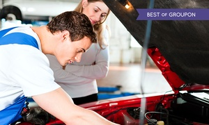 The Garage MK: 54-Point Car Service Including Oil and Filter Change for £35 at The Garage:MK (71% Off)