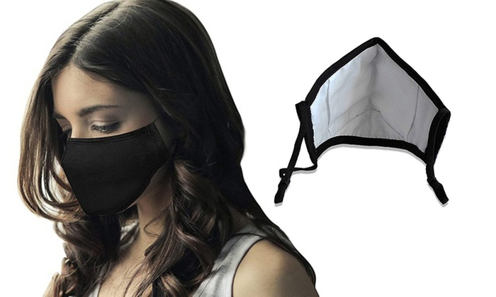 Up To 16 Off On Face Mask With 4 Filters Groupon Goods