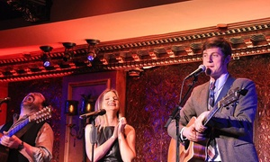 54 Below: Broadway Revue, Concert, or Cabaret Performance at 54 Below Through February 28 (Up to 46% Off)