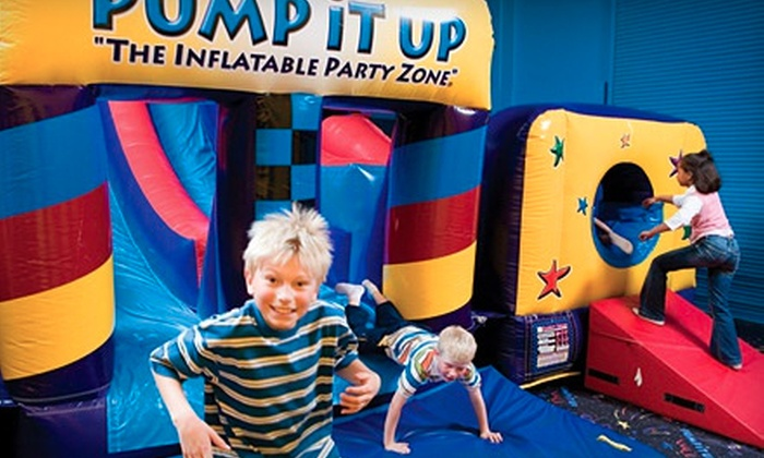 Pump It Up & Pump It Up Junior - Multiple Locations: 5 or 10 Play Visits at Pump It Up & Pump It Up Junior (Up to 64% Off)