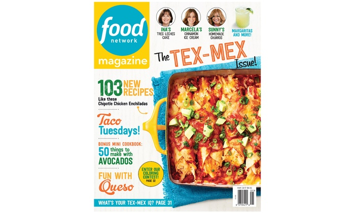 Magazine Subscriptions Food Network Rachael Ray Every Day And
