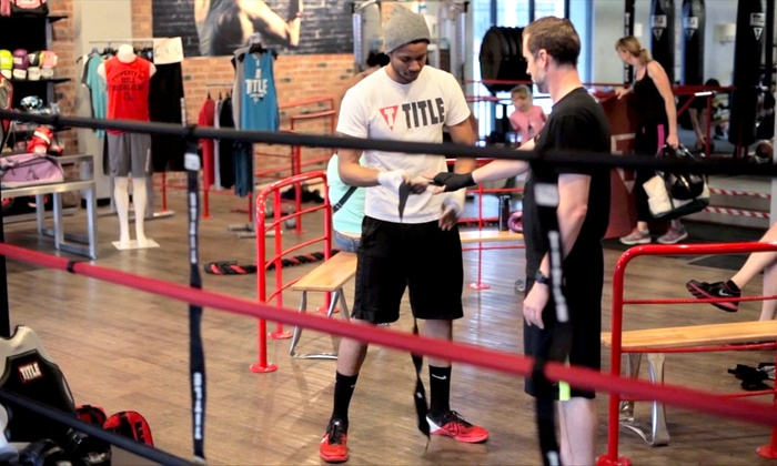 TITLE Boxing Club - North Park: $49 for Two Weeks of Boxing and Kickboxing Classes with Hand Wraps at TITLE Boxing Club ($74.99 Value)
