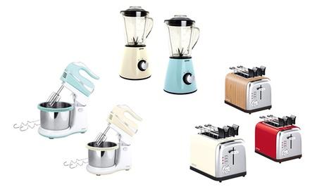 Tostapane, mixer o frullatore Zephir disponibili in 5 colori