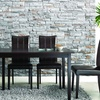 Baxton Studio Faux-Leather Dining Chair Set