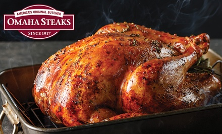 Holiday Gift Packages and a Thanksgiving Meal from Omaha Steaks (Up to 74% Off)