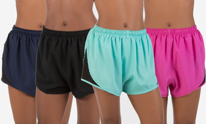 Form+Focus Women's Running Shorts (2-Pack) | Groupon Exclusive