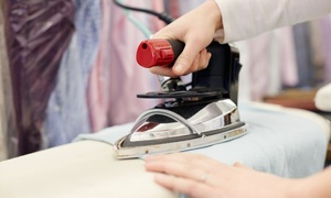 Ironing Master: Ironing Service with Pick Up and Delivery: Small ($21) or Large Basket ($41) from Ironing Master (Up to $53 Value)