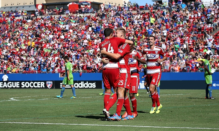 FC Dallas vs. Montreal Impact - Toyota Stadium: FC Dallas MLS Soccer Game Against Montreal Impact Including On-Field Experience on March 8 (Up to 62% Off)