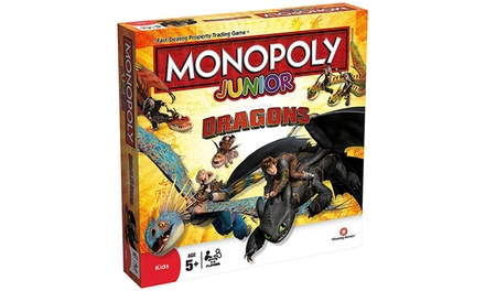 Monopoly Junior-Spiel in Drachen-Edition für Kinder ab 5 Jahren (Frankfurt)
