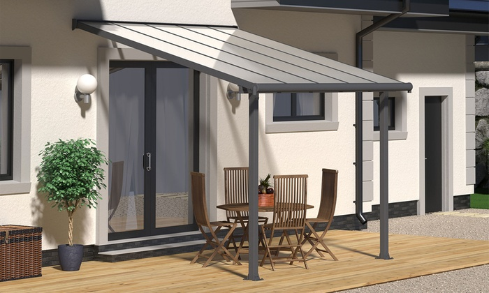 Groupon Goods Global GmbH: Palram Olympia Patio Cover In Choice Of Size  With Free Delivery ...