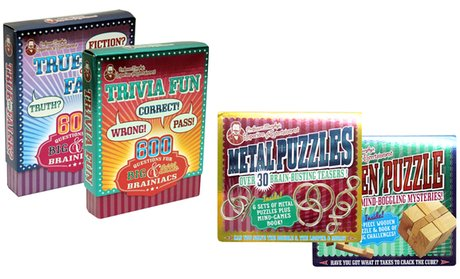 Professor Murphy's Puzzle and Card Kits