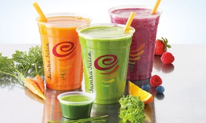 Three Or Five Groupons, Each Good For One 12 Oz. Freshly Squeezed Juice At Jamba Juice (42% Off)