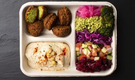 Falafel and Fresh Vegetarian, Kosher Food at Maoz Vegetarian (Up to 40% Off)