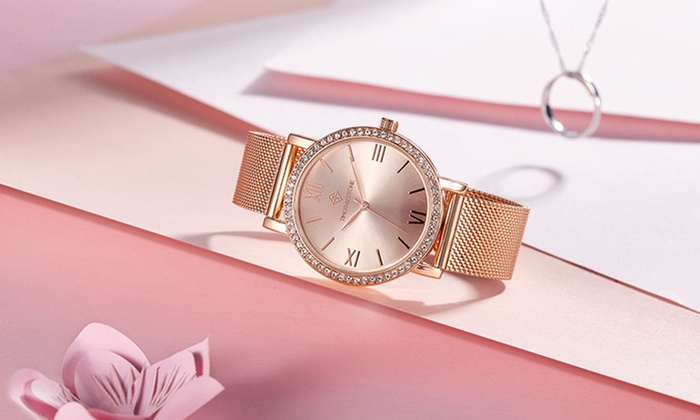 One or Two Timothy Stone Indio Women's Watches with Crystals from Swarovski® from £18.99