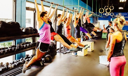 $29 for Five Consecutive Weeks of Boot Camp Classes at Hard Exercise Works ($199 Value)
