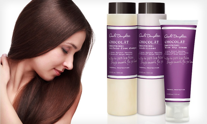 Carol's Daughter Chocolät Haircare Set: $24.99 for Carol's Daughter Haircare Set with Shampoo, Conditioner, and Blow Dry Cream ($60 List Price). Free Shipping.