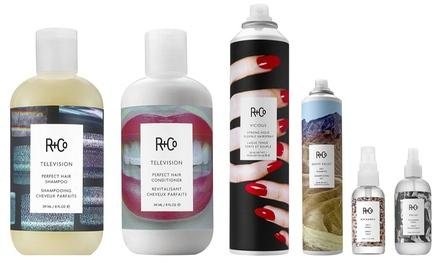 R+Co Conditioner, Shampoo, Dry Shampoo, or Hair Spray
