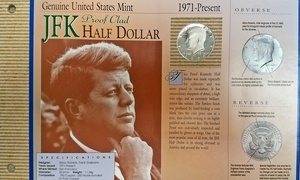 1971-Present JFK Half Dollar and 1859-1909 Indian Head Penny Coin Set