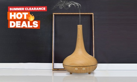 $36 for a Milano Décor Ultrasonic Aromatherapy Diffuser with a ThreePack of Essential Oils Don't Pay $129