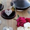 Up to 54% Off Custom-Etched Monogram Wineglasses