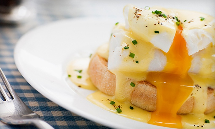Crossroads - Dupont Circle: Brunch with Fruit, Entrees, and Bottomless Mimosas or Bloody Marys for Two or Four at Crossroads (Up to 51% Off)