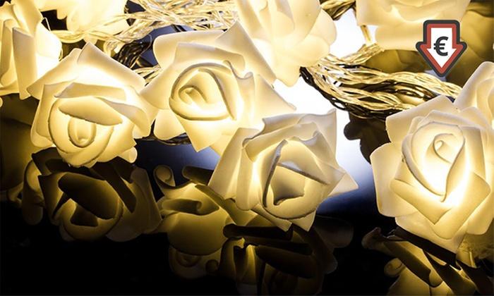 Set di luci a LED rose