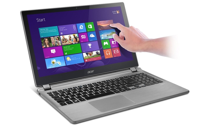 """Acer Aspire 15.6"""" Touchscreen Laptop: Acer Aspire 15.6"""" Touchscreen Widescreen Laptop with a Quad-Core Processor and Windows 8. Free Returns."""