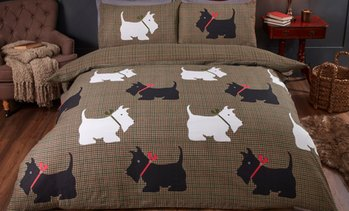 Hamish Tweed Print Duvet Set