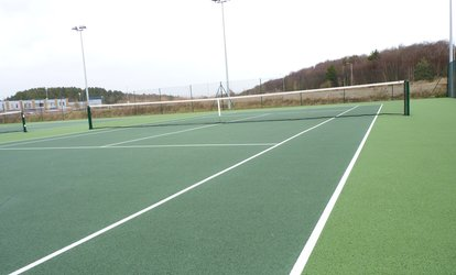 One, Two or Three Hours of Tennis Court Hire for Up to Four at Swansea Tennis Centre (Up to 64% Off)