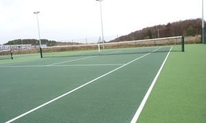 Swansea Tennis Centre: One, Two or Three Hours of Tennis Court Hire for Up to Four at Swansea Tennis Centre (Up to 64% Off)