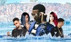 Wet n Wild Foam Party Starring A Boogie Wit Da Hoodie And Friends - Hawthorne Racecourse: Wet n Wild Foam Party Starring PNB Rock, A Boogie Wit Da Hoodie and Friends on July 26 at Noon