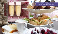 Afternoon Tea with Optional Fizz for Two or Four at Holt Lodge Hotel (Up to 49% Off)