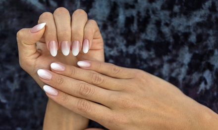 One Acrylic Set, Manicure or Pedicure, or Manicure and Pedicure at Kish Nails (Up to 42% Off)