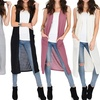 Lyss Loo Cover Me Up Long-Line Cardigan Vest