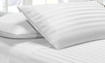 1000TC Soft Stripe Sheet Set