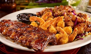 T.G.I. Friday's: Dinner for Two for More or Lunch at T.G.I. Friday's (Up to 50% Off)