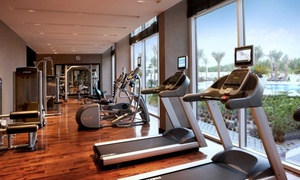 Centro Sharjah: Gym Membership with Pool and Sauna Access: Up to 12 Months for One or a Family of Four at Centro Sharjah (Up to 45% Off)
