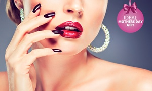 Claudia's Nails: Manicure or Pedicure from R65 with Optional Overlays at Claudia's Nails (Up to 55% Off)
