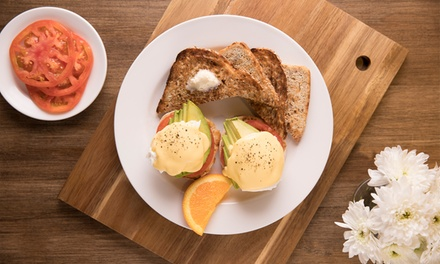 Breakfast Items, Sides, and Drinks for One, Two, or Four at Famous Toastery (Up to 33% Off)