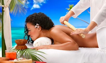 One-Hour Bamboo Massage at FICBA Therapy (40% Off)